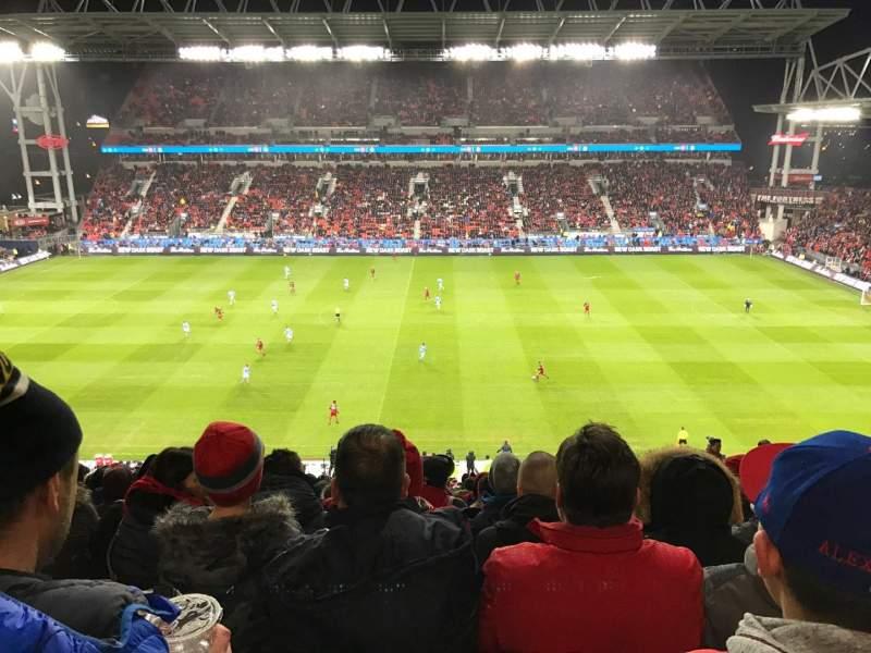 BMO Field, section: 223, row: 21, seat: 9