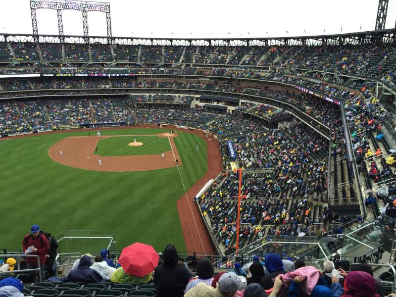 Seating view for Citi Field Section 533 Row 17 Seat 8