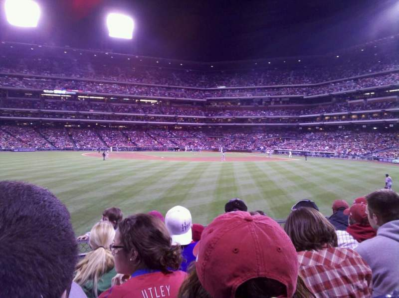 Seating view for Citizens Bank Park Section 145 Row 5