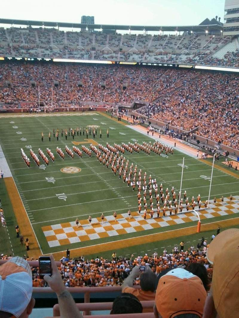 Seating view for Neyland Stadium Section NN Row 3 Seat 24