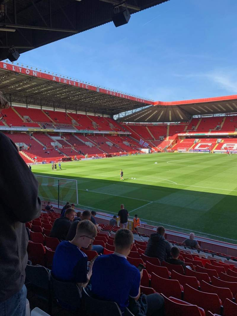 Seating view for The Valley Section Jimmy Seed Stand Row P Seat 25