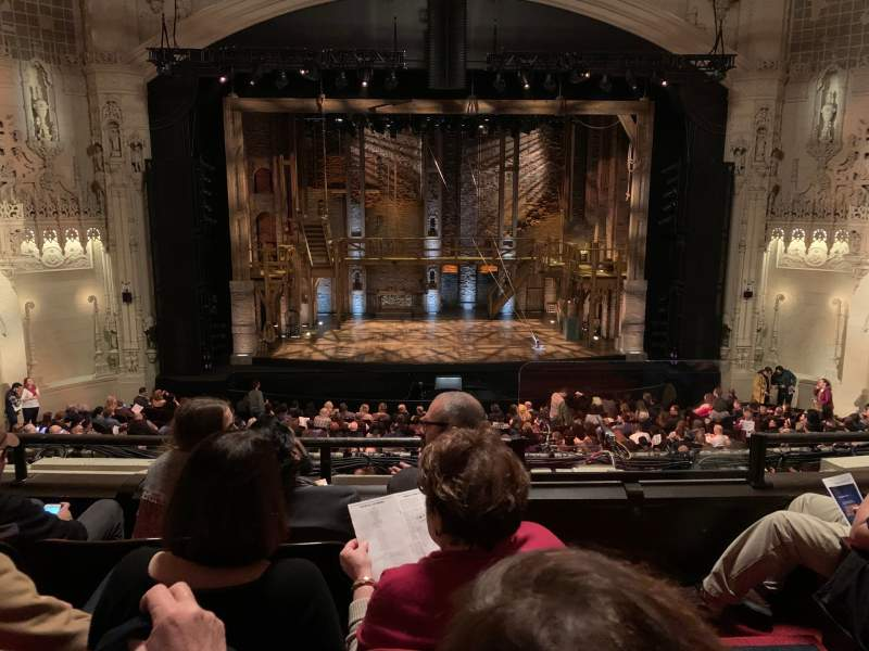 Seating view for Orpheum Theatre (San Francisco) Section Mezzanine LC Row D Seat 103