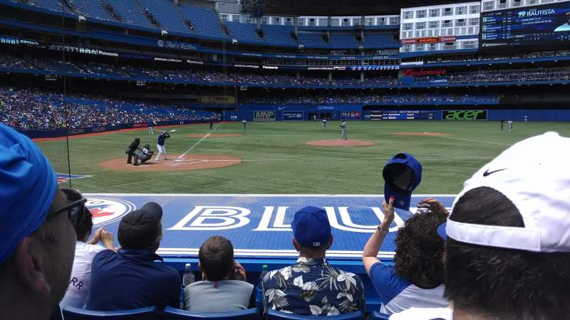 Seating view for Rogers Centre Section 119R Row 11 Seat 9