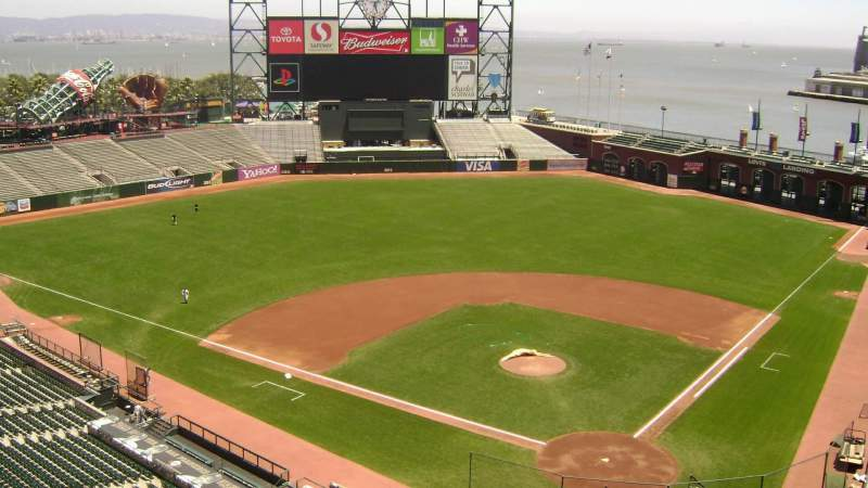 Seating view for Oracle Park Section 319