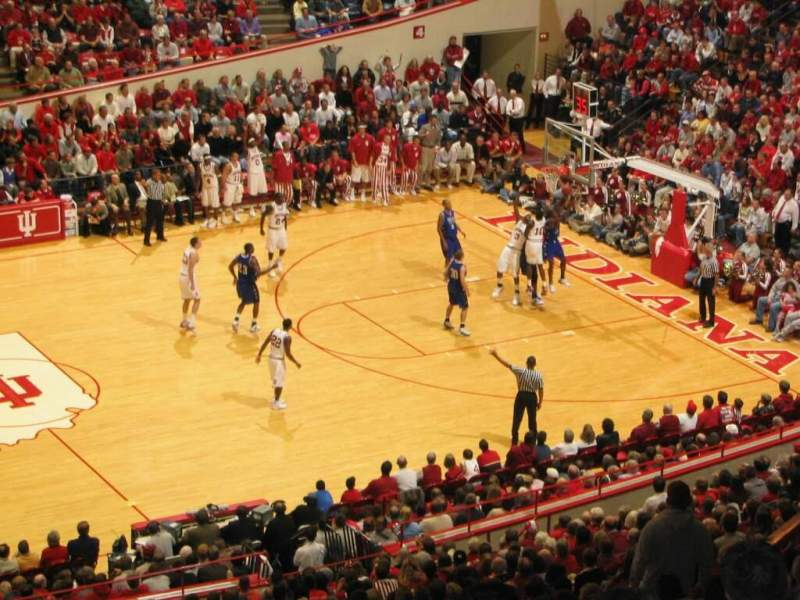 Seating view for Assembly Hall (Bloomington) Section JJ