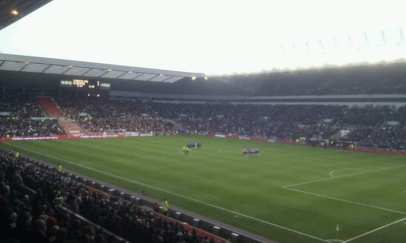 Seating view for Stadium Of Light Section north east corner