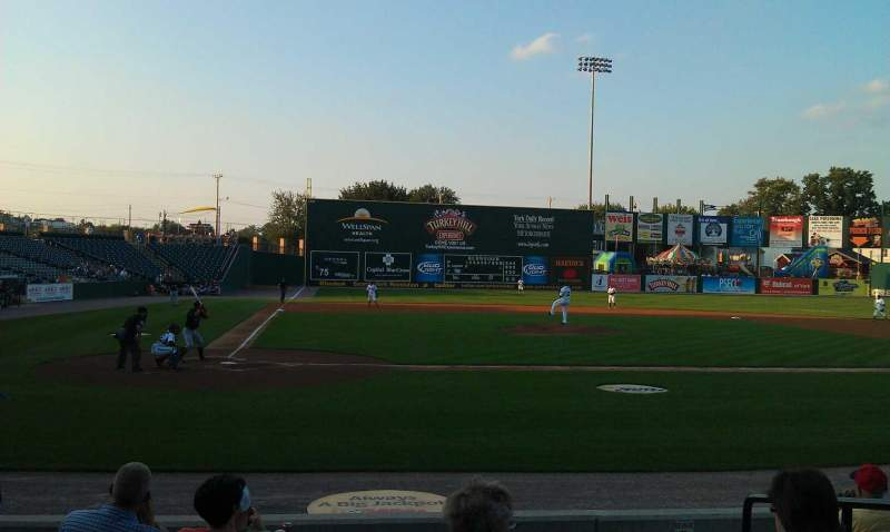 Seating view for PeoplesBank Park Section 10 Row H Seat 4
