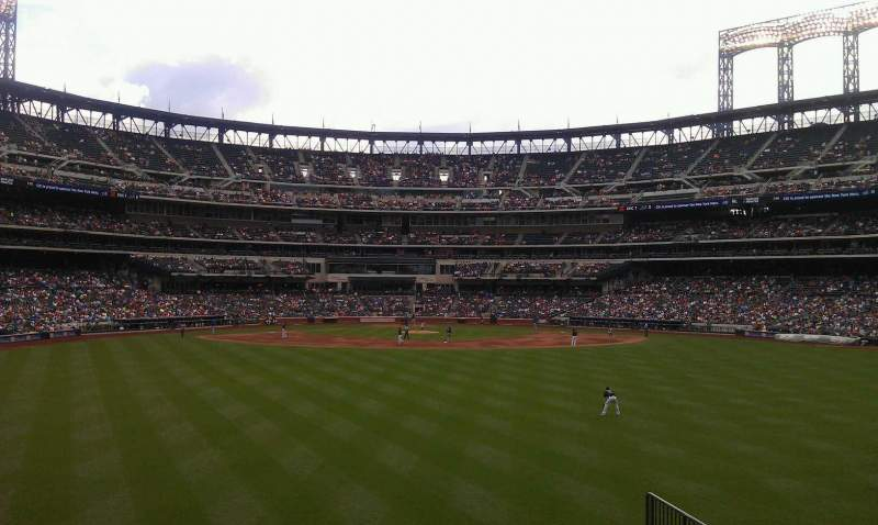 Seating view for Citi Field Section 141 Row 12 Seat 5
