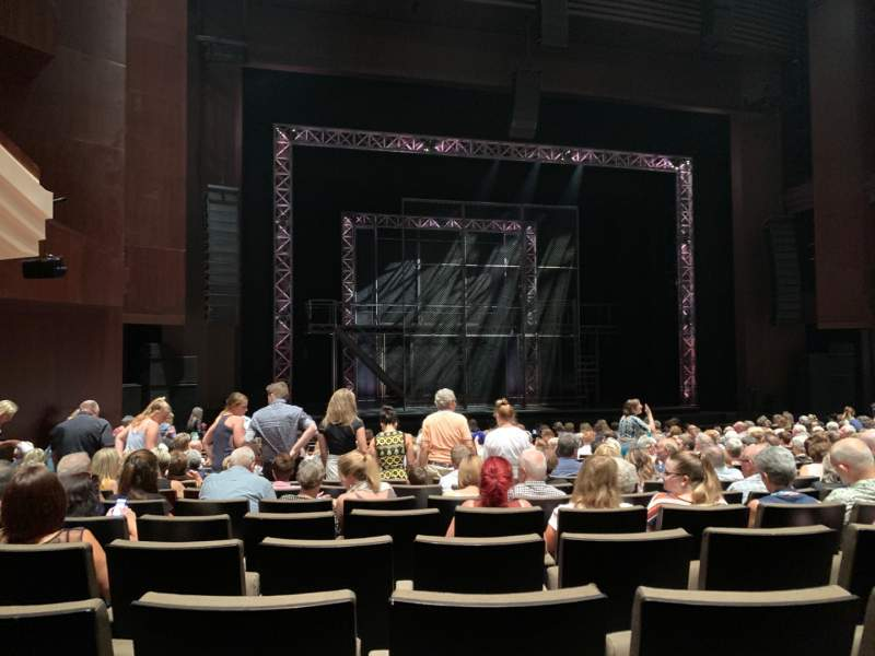 Seating view for Lyric Theatre at the Queensland Performing Arts Centre Section STALLS Row M Seat 16