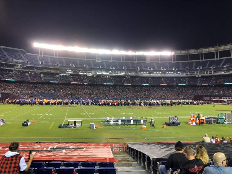 Seating view for SDCCU Stadium Section F3 Row 17 Seat 17