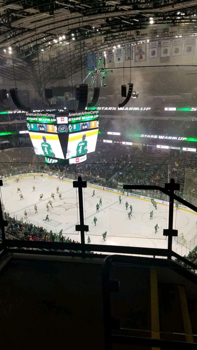 Seating view for American Airlines Center Section 305 Row H Seat 10