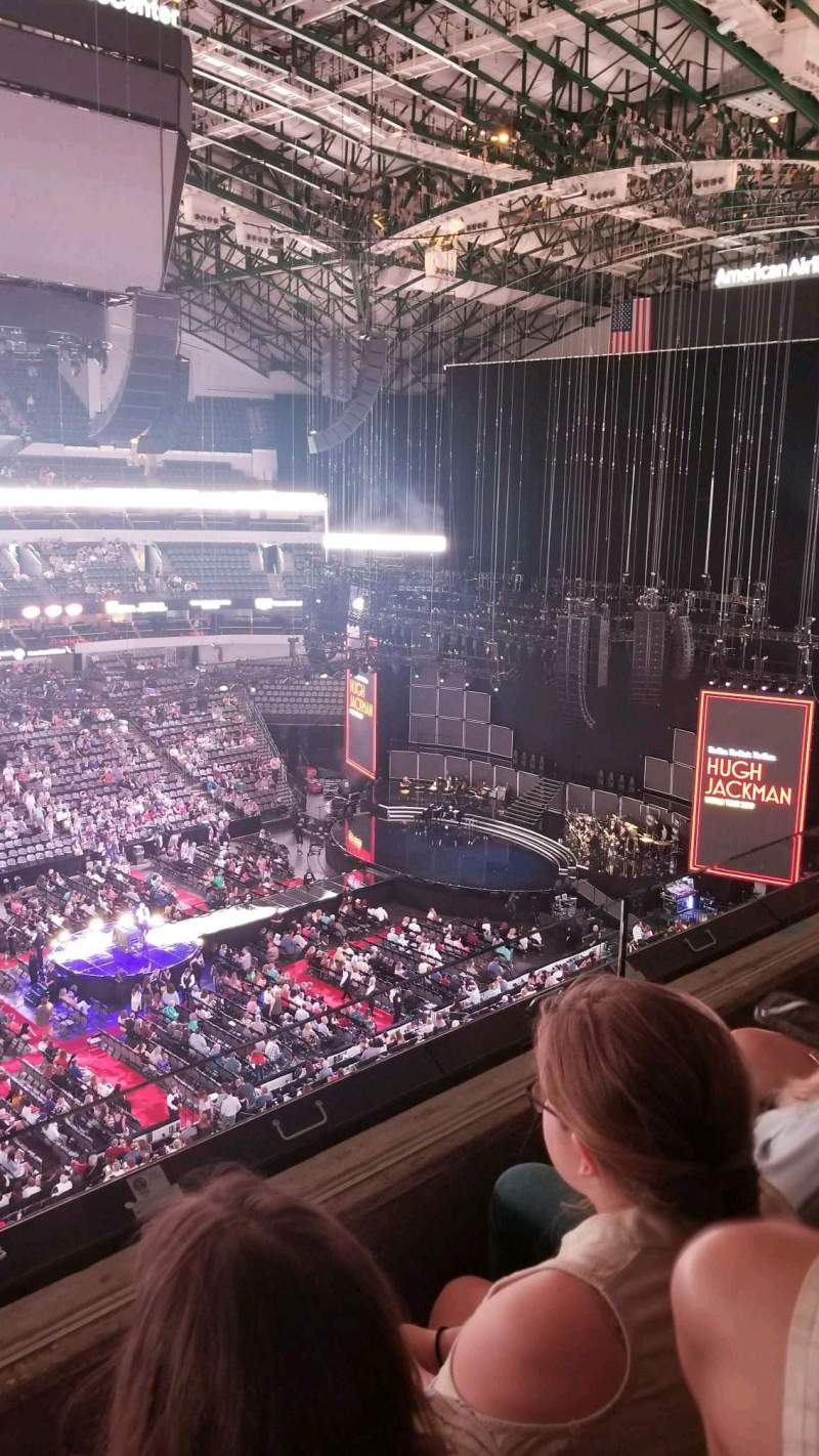Seating view for American Airlines Center Section 311 Row B Seat 17
