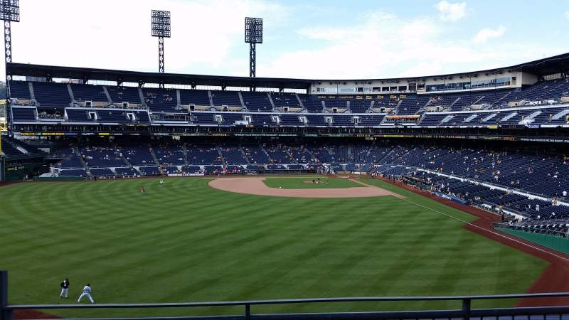 Seating view for PNC Park Section 337