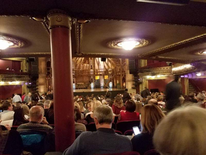 Seating view for CIBC Theatre Section Orchestra RC Row Y Seat 116