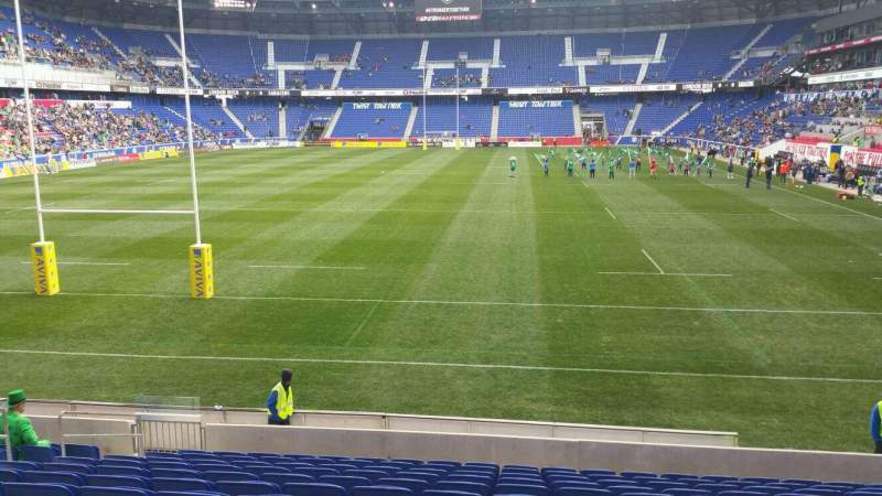 Seating view for Red Bull Arena Section 117 Row 12 Seat 10