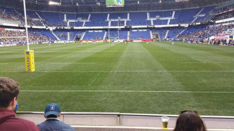 Seating view for Red Bull Arena Section 117 Row 3 Seat 16