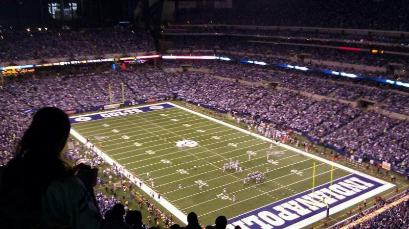 Seating view for Lucas Oil Stadium Section 631 Row 16 Seat 5