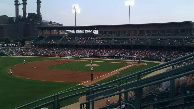 Seating view for Victory Field Section 201 Row E Seat 5
