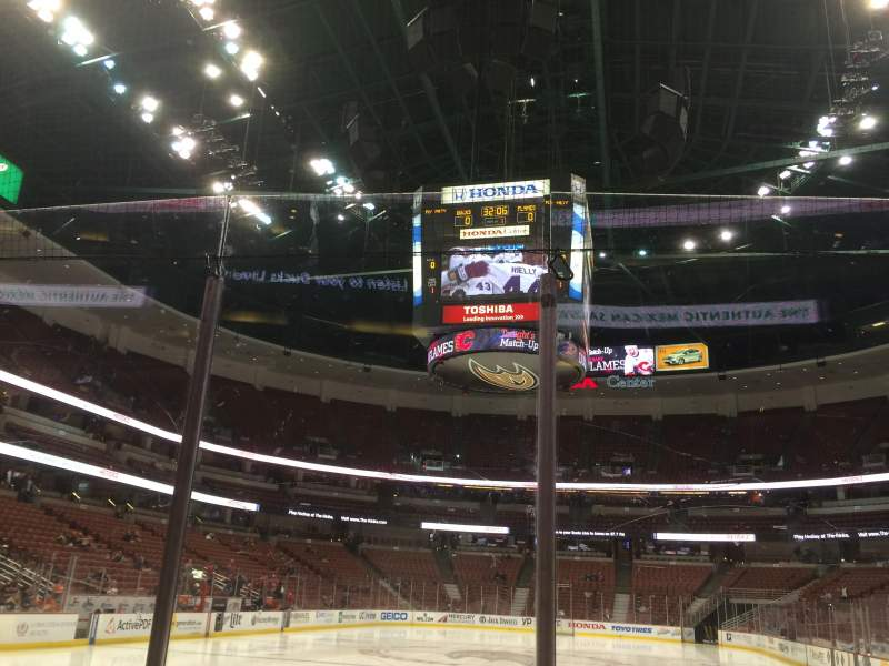 Seating view for Honda Center Section 228 Row B Seat 2