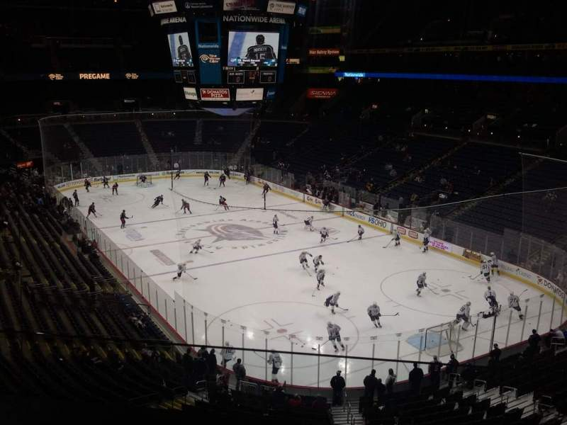Seating view for Nationwide Arena Section 305 box