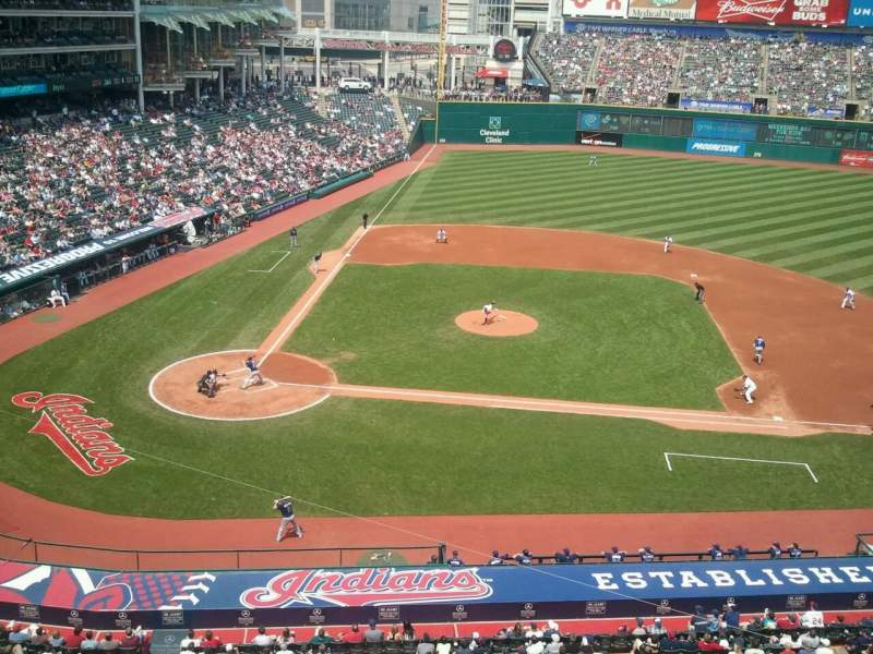 Seating view for Progressive Field Section Suite 326