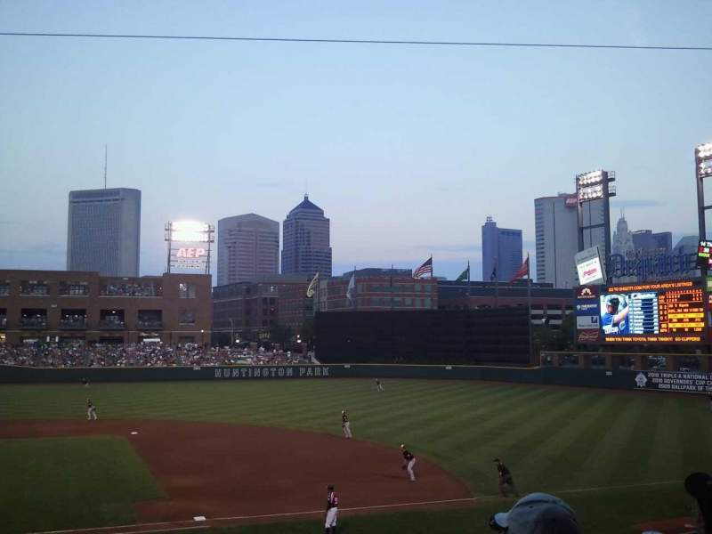 Seating view for Huntington Park Section 7 Row 10 Seat 1