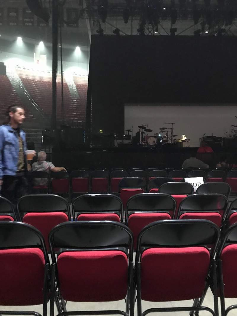 Seating view for Viejas Arena Section Floor DDD Row 6 Seat 4