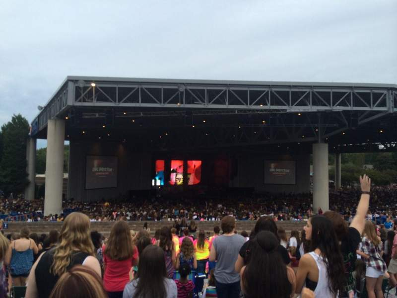 Seating view for PNC Music Pavilion Section Lawn