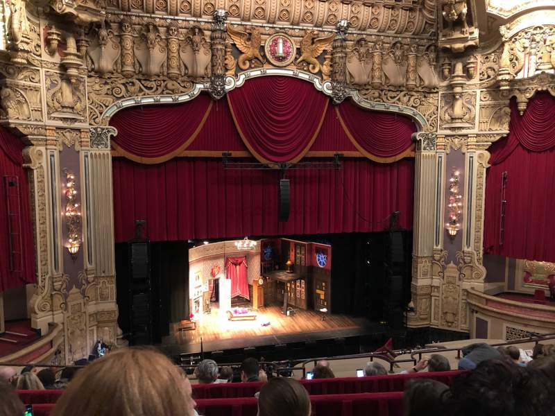 Seating view for Oriental Theatre Section BALCLC Row G Seat 331