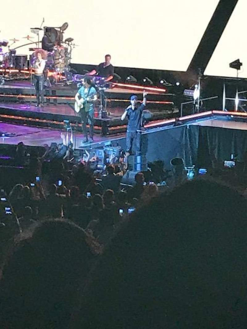 Madison Square Garden, section: 106, row: 14, seat: 6