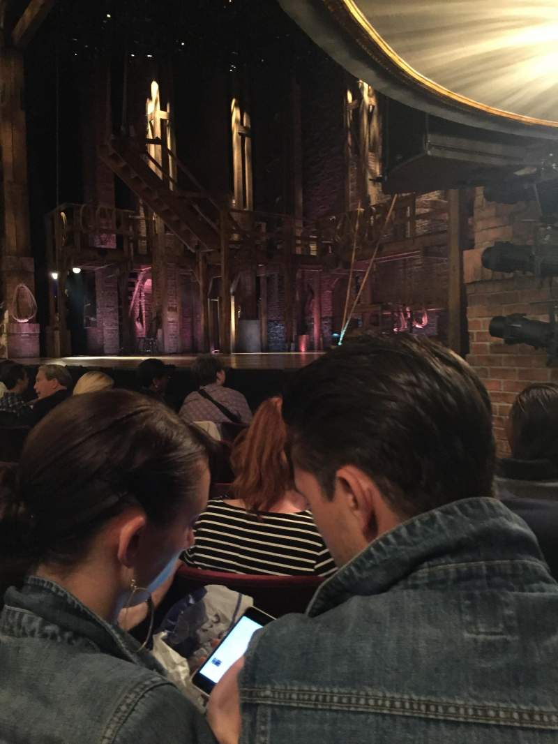 Seating view for Richard Rodgers Theatre Section Orch Row E Seat 2