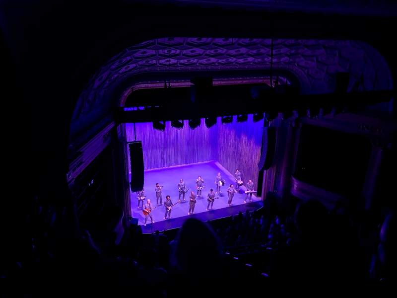 Seating view for Hudson Theatre Section Balcony L Row H Seat 2