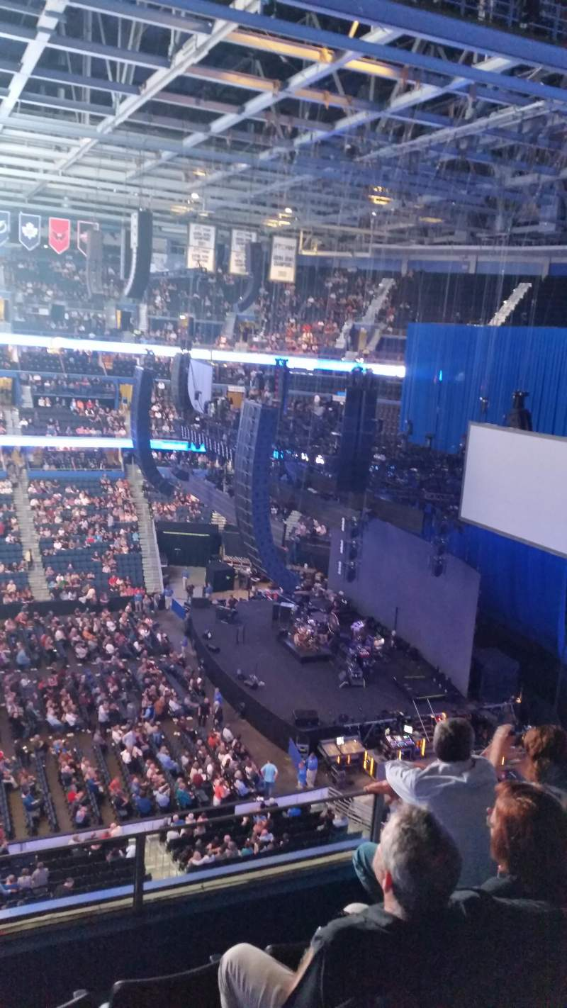 Amalie Arena Section 330 Row D Seat 11 Fleetwood Mac