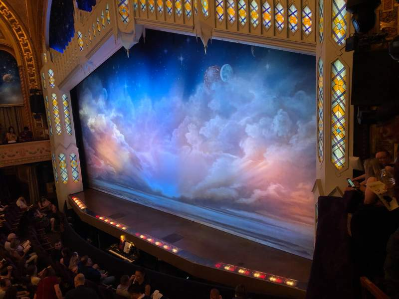 Seating view for Eugene O'Neill Theatre Section Boxes Right Row C Seat 1
