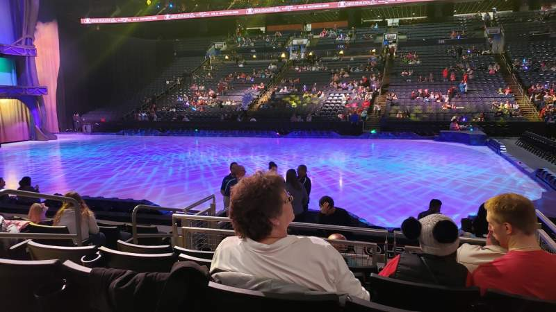 Seating view for Nationwide Arena Section 113 Row H Seat 14
