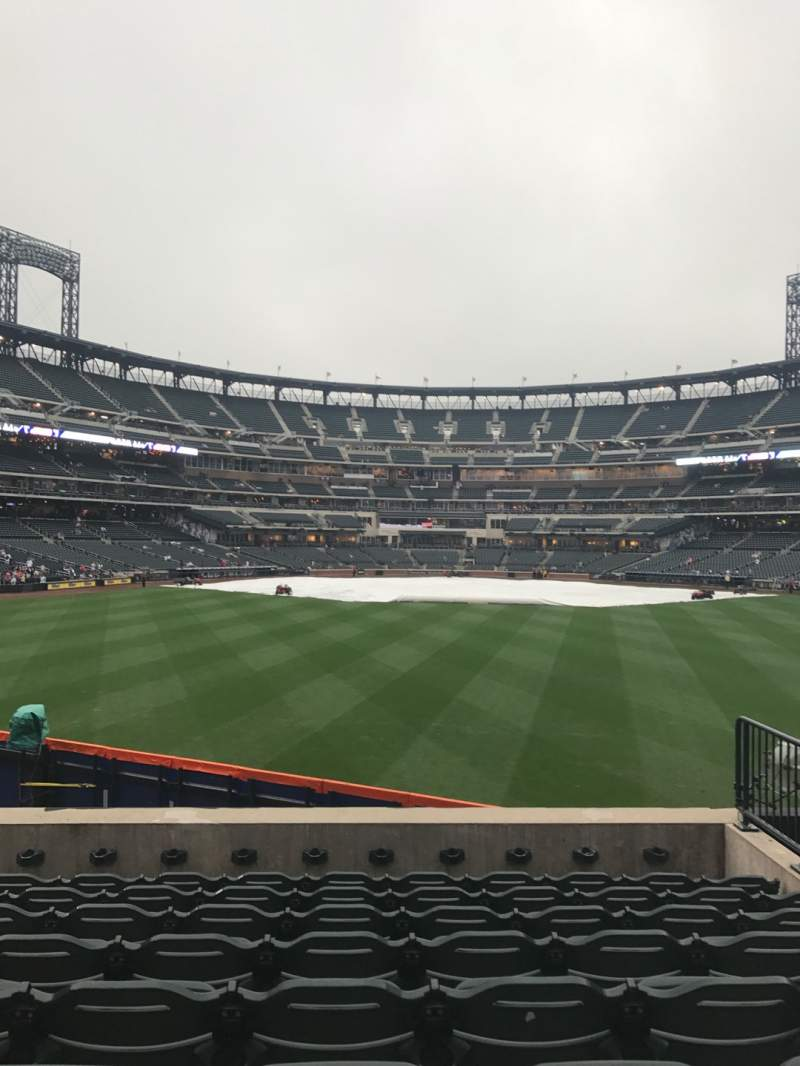 Seating view for Citi Field Section 140 Row 8 Seat 7