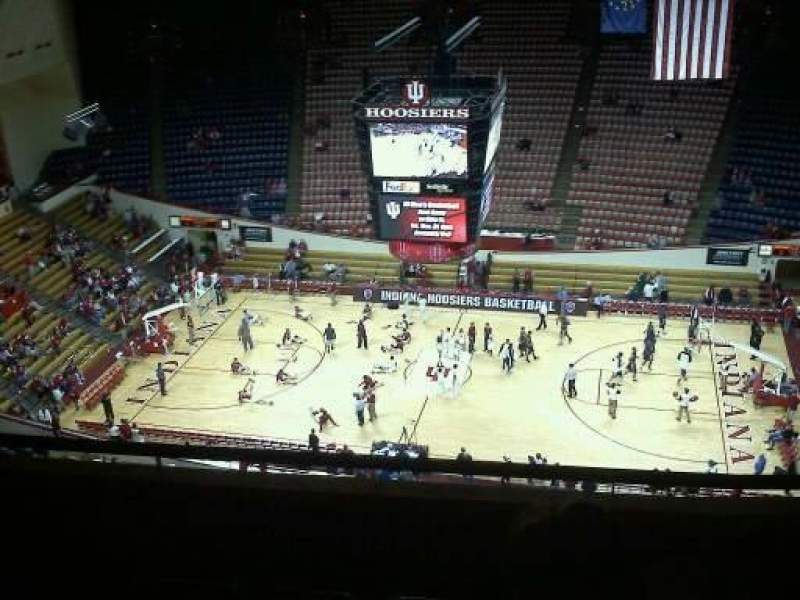 Seating view for Assembly Hall (Bloomington) Section jj Row 6 Seat 4