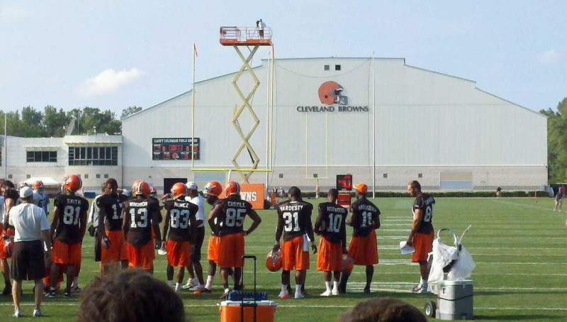 Seating view for Cleveland Browns Training Camp