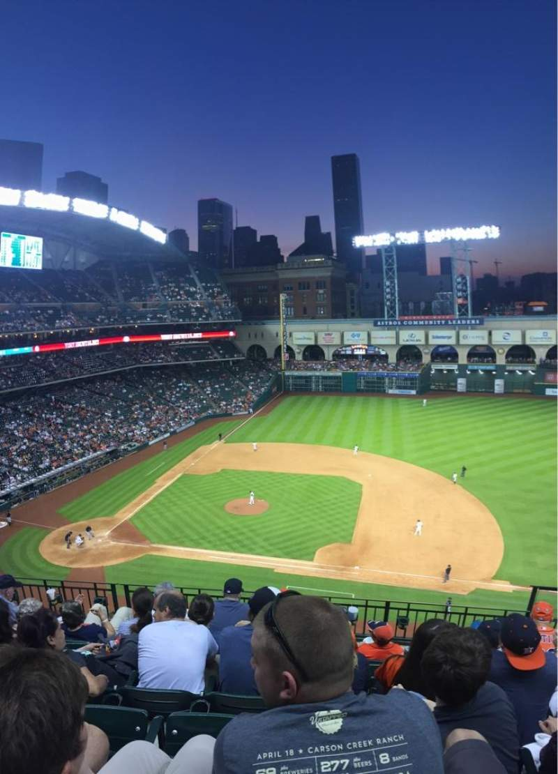 Seating view for Minute Maid Park Section 325 Row 6 Seat 21