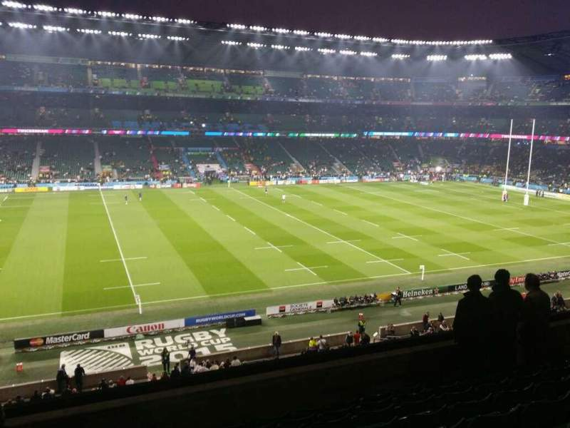 Seating view for Twickenham Stadium Section M35 Row 59 Seat 318