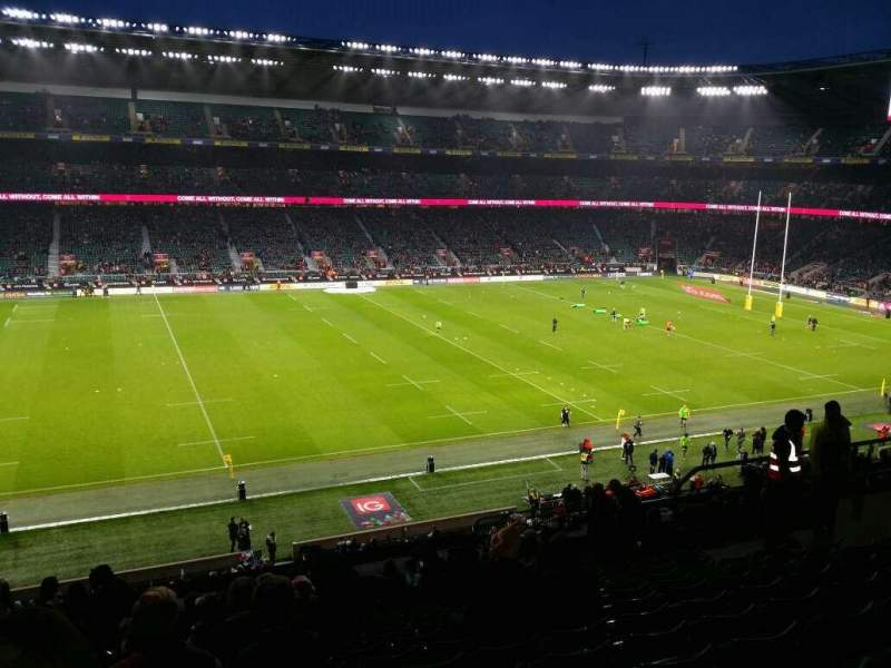 Seating view for Twickenham Stadium Section M10  Row 67 Seat 251