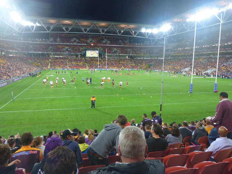 Seating view for Suncorp Stadium Section 330 Row 16 Seat 20