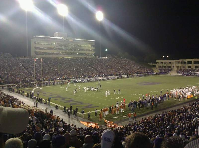 Seating view for Bill Snyder Family Stadium Section 19 Row 35 Seat 23