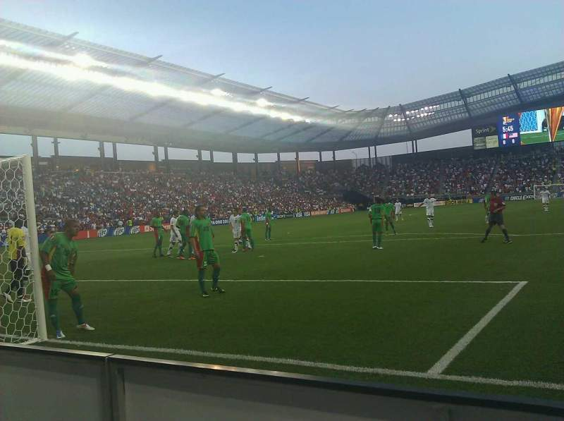 Seating view for Children's Mercy Park Section M7 Row a