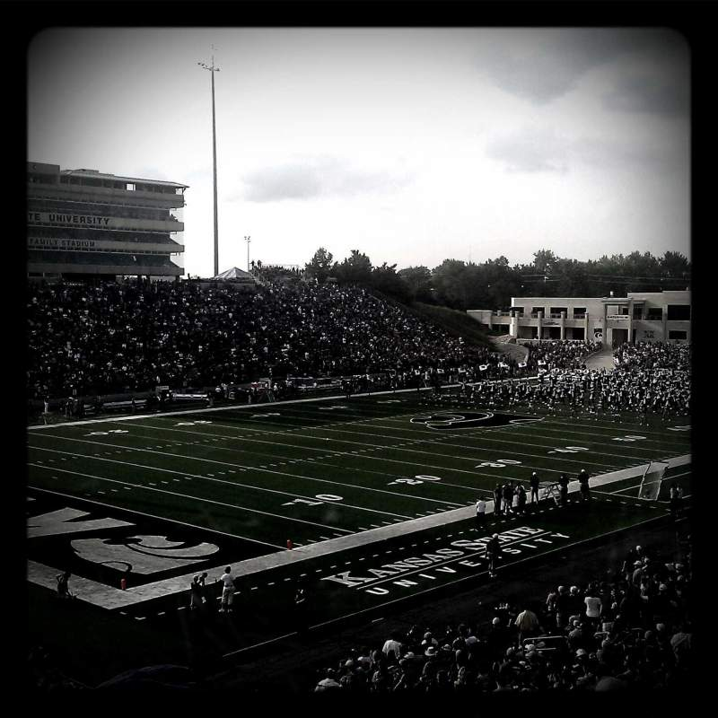 Seating view for Bill Snyder Family Stadium Section 19 Row 38 Seat 23