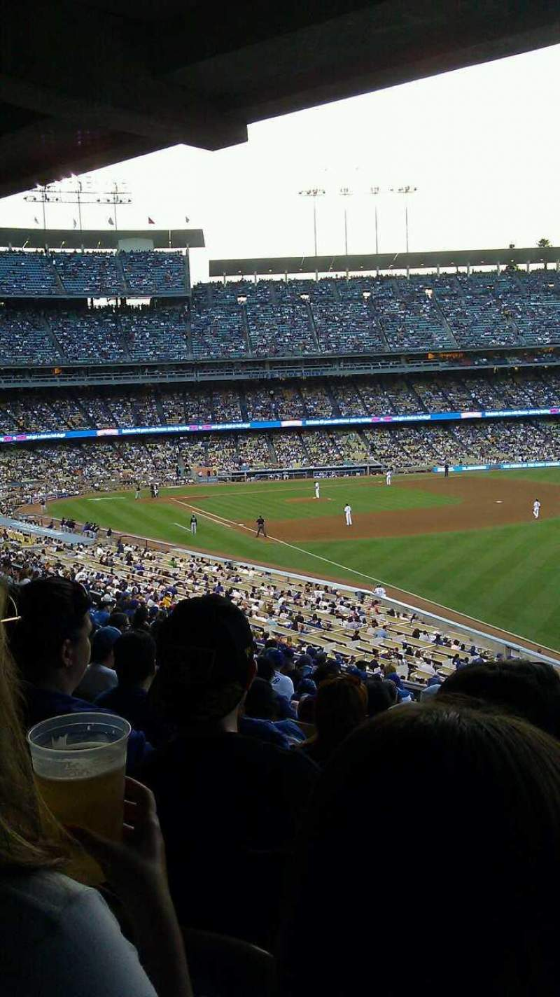 Seating view for Dodger Stadium Section 162LG Row S Seat 8