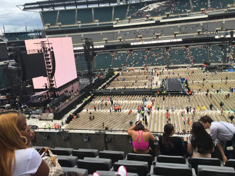 Seating view for Lincoln Financial Field Section C1 Row 10 Seat 10