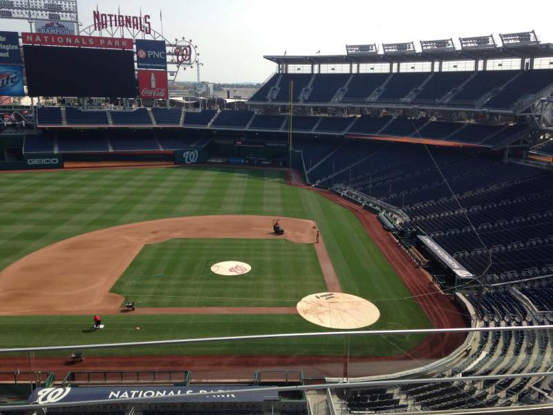 Seating view for Nationals Park Section 309 Row C Seat 5