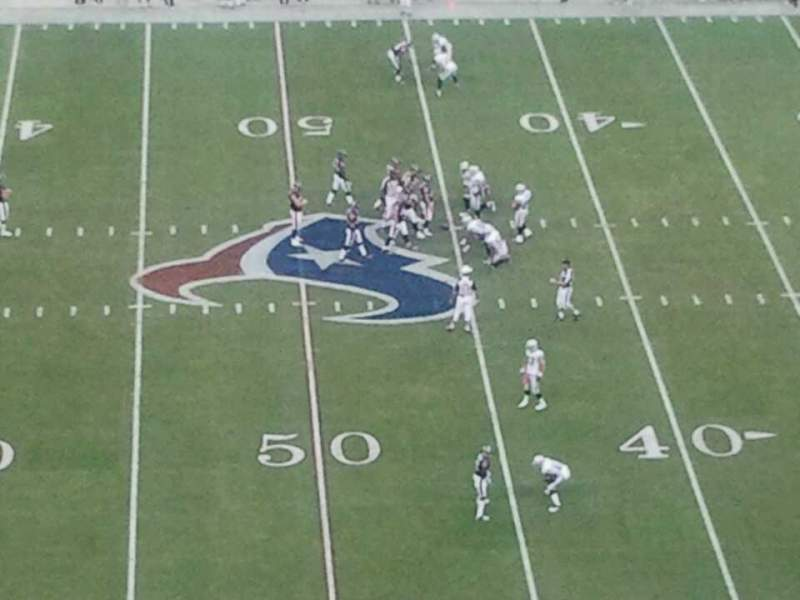 Seating view for NRG Stadium