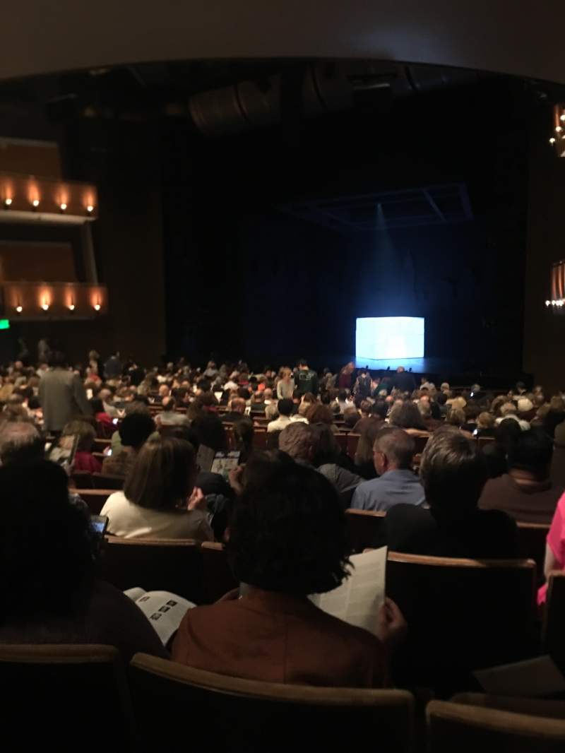 Seating view for Ahmanson Theatre Section Orchestra Row V Seat 2